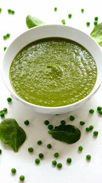Зеленый суп с фенхелем
